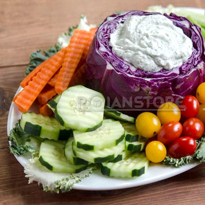 Cuchillo papas corte americano vegetales frutas ondeadas for Cuchillo fruta