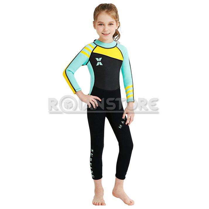 Traje Surf Neopreno Unisex para Niños Talla M 28c9600c204